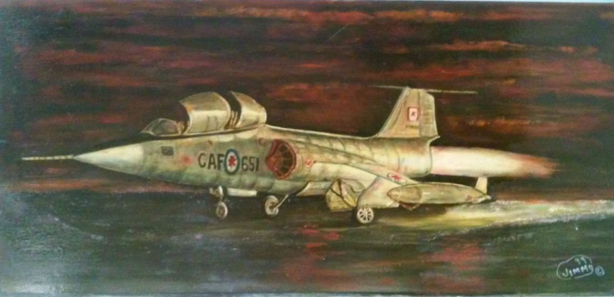 Jimmy Mann fighter plane 1